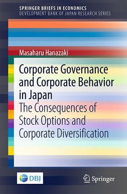 Hanazaki, Masaharu - Corporate Governance and Corporate Behavior in Japan, ebook