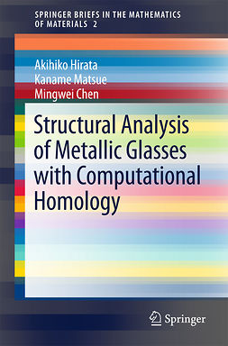 Chen, Mingwei - Structural Analysis of Metallic Glasses with Computational Homology, ebook