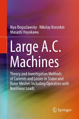 Boguslawsky, Iliya - Large A.C. Machines, e-bok