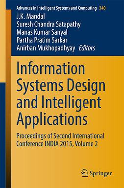 Mandal, J. K. - Information Systems Design and Intelligent Applications, e-kirja