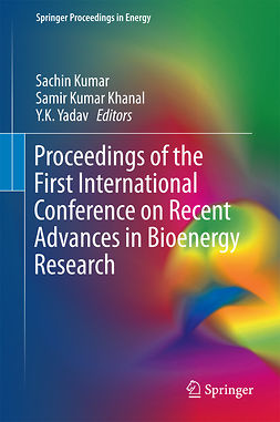 Khanal, Samir Kumar - Proceedings of the First International Conference on Recent Advances in Bioenergy Research, ebook