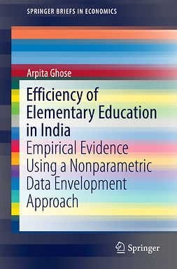 Ghose, Arpita - Efficiency of Elementary Education in India, ebook