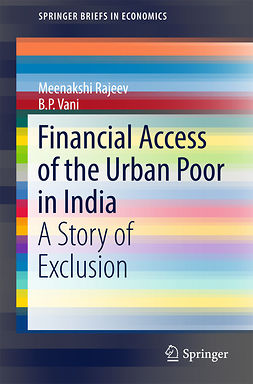 Rajeev, Meenakshi - Financial Access of the Urban Poor in India, ebook