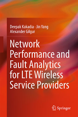 Gilgur, Alexander - Network Performance and Fault Analytics for LTE Wireless Service Providers, ebook