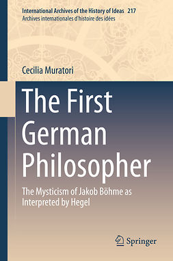 Muratori, Cecilia - The First German Philosopher, ebook