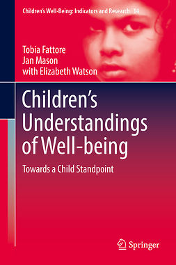 Fattore, Tobia - Children's Understandings of Well-being, ebook