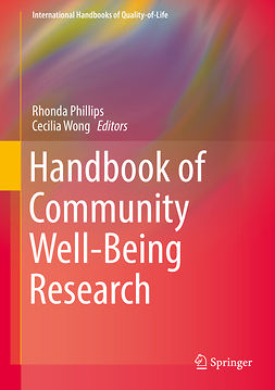 Phillips, Rhonda - Handbook of Community Well-Being Research, e-bok
