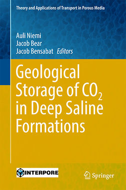 Bear, Jacob - Geological Storage of CO2 in Deep Saline Formations, ebook