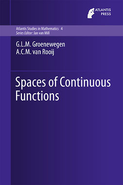 Groenewegen, G.L.M. - Spaces of Continuous Functions, ebook