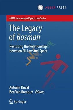 Duval, Antoine - The Legacy of Bosman, ebook
