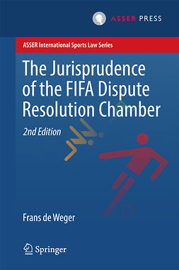 Weger, Frans  de - The Jurisprudence of the FIFA Dispute Resolution Chamber, ebook