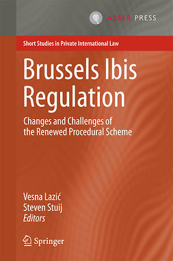 Lazić, Vesna - Brussels Ibis Regulation, ebook
