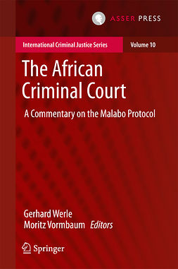 Vormbaum, Moritz - The African Criminal Court, ebook