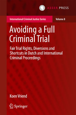Vriend, Koen - Avoiding a Full Criminal Trial, ebook