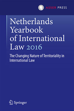Kuijer, Martin - Netherlands Yearbook of International Law 2016, ebook