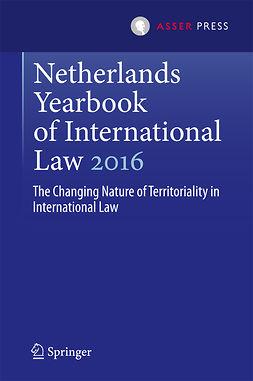 Kuijer, Martin - Netherlands Yearbook of International Law 2016, e-kirja
