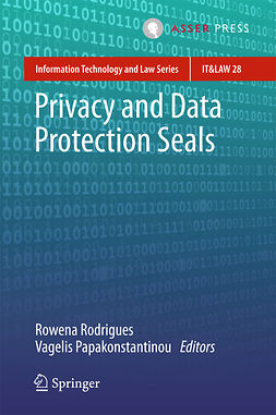 Papakonstantinou, Vagelis - Privacy and Data Protection Seals, e-bok