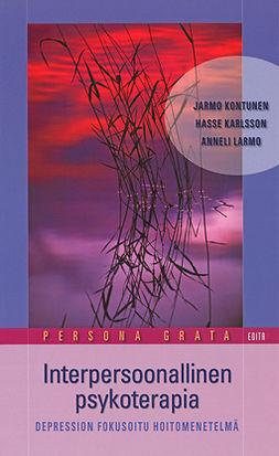 Kontunen, Jarmo - Interpersoonallinen psykoterapia. Depression fokusoitu hoitomenetelmä, e-kirja