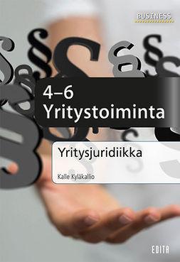Kyläkallio, Kalle - Yritysjuridiikka – Yritystoiminta, e-kirja