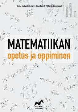 Joutsenlahti, Jorma - Matematiikan opetus ja oppiminen, e-kirja
