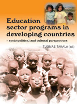 Takala, Tuomas  - Education sector programs in developing countries - sociopolitical and cultural perspectives, ebook