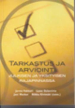 Kivimäki, Riikka  - Tarkastus ja arviointi, ebook