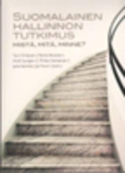 Ahonen, Pertti - Suomalainen hallinnon tutkimus, e-kirja