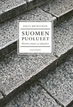 Mickelsson, Rauli - Suomen puolueet, e-kirja
