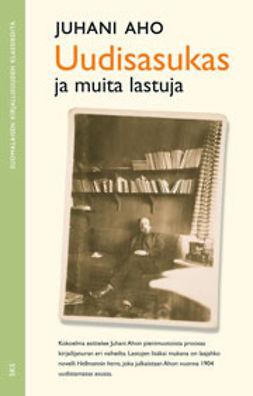 Aho, Juhani - Uudisasukas ja muita lastuja, ebook