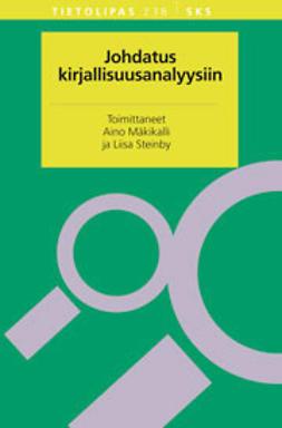 Mäkikalli, Aino - Johdatus kirjallisuusanalyysiin, e-bok