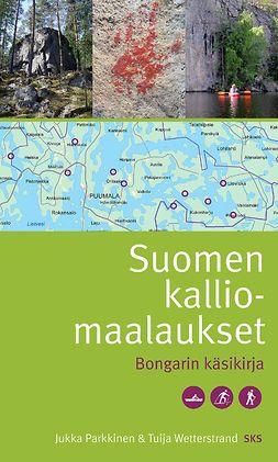 Parkkinen, Jukka - Suomen kalliomaalaukset. Bongarin käsikirja, e-bok