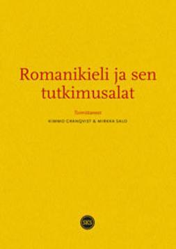 Geanqvist, Kimmo - Romanikieli ja sen tutkimusalat, e-kirja
