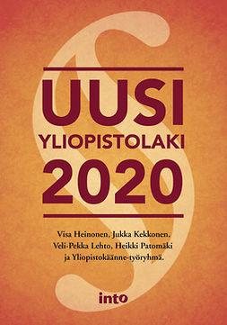 Heinonen, Visa - Uusi yliopistolaki, e-bok