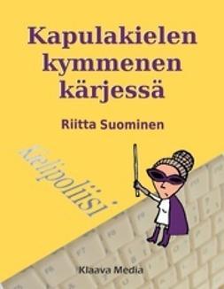 Suominen, Riitta - Kapulakielen kymmenen kärjessä, e-kirja