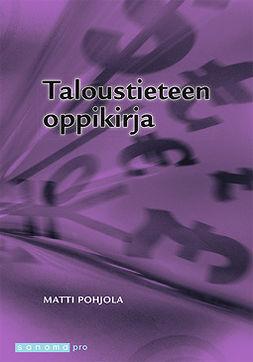 Pohjola, Martti - Taloustieteen oppikirja, ebook