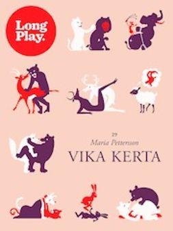 Pettersson, Maria - Vika kerta, e-kirja