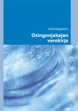 Koponen, Juha - Osingonjakajan verokirja, e-kirja