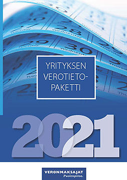 Koponen, Juha - Yrityksen verotietopaketti, e-kirja
