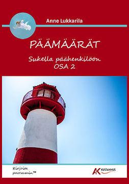 Lukkarila, Anne - Päämäärät - Sukella päähenkilöön Osa 2, ebook
