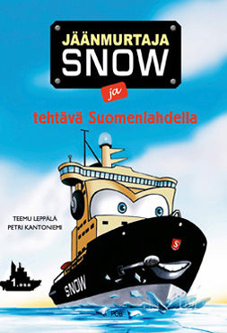 Jäänmurtaja Snow ja tehtävä Suomenlahdella