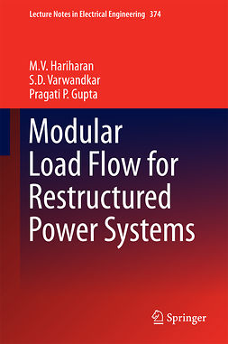Gupta, Pragati P. - Modular Load Flow for Restructured Power Systems, e-bok