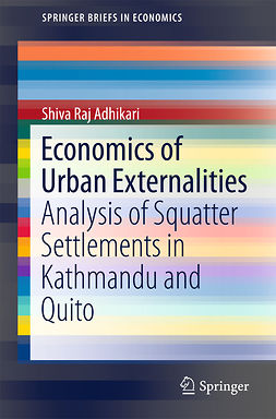 Adhikari, Shiva Raj - Economics of Urban Externalities, ebook