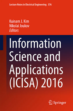 Joukov, Nikolai - Information Science and Applications (ICISA) 2016, e-kirja