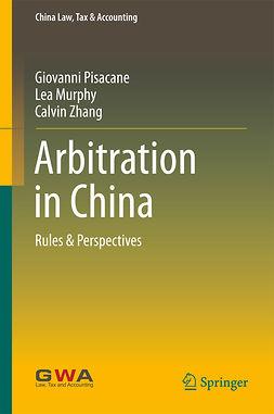 Murphy, Lea - Arbitration in China, e-kirja
