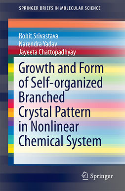 Chattopadhyay, Jayeeta - Growth and Form of Self-organized Branched Crystal Pattern in Nonlinear Chemical System, ebook