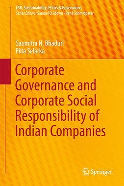 Bhaduri, Saumitra N. - Corporate Governance and Corporate Social Responsibility of Indian Companies, e-bok