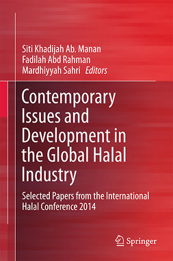 Manan, Siti Khadijah Ab. - Contemporary Issues and Development in the Global Halal Industry, ebook