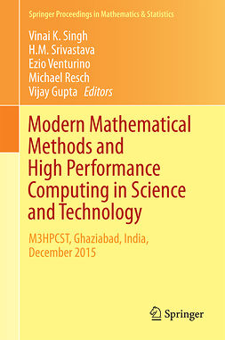 Gupta, Vijay - Modern Mathematical Methods and High Performance Computing in Science and Technology, e-bok