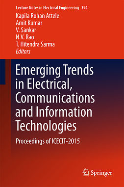 Attele, Kapila Rohan - Emerging Trends in Electrical, Communications and Information Technologies, ebook
