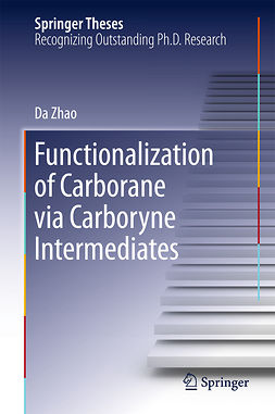 Zhao, Da - Functionalization of Carborane via Carboryne Intermediates, ebook